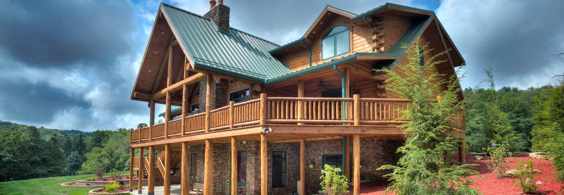 Log Home Builder   Log Home Design   Walnut Valley Log Homes